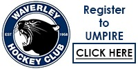 Register to Umpire for Waverley Hockey Club - Junior Unit
